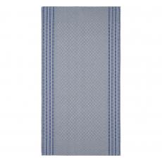 Grubenhandtuch - grau-blau